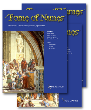 Tome of Names on DriveThruRPG